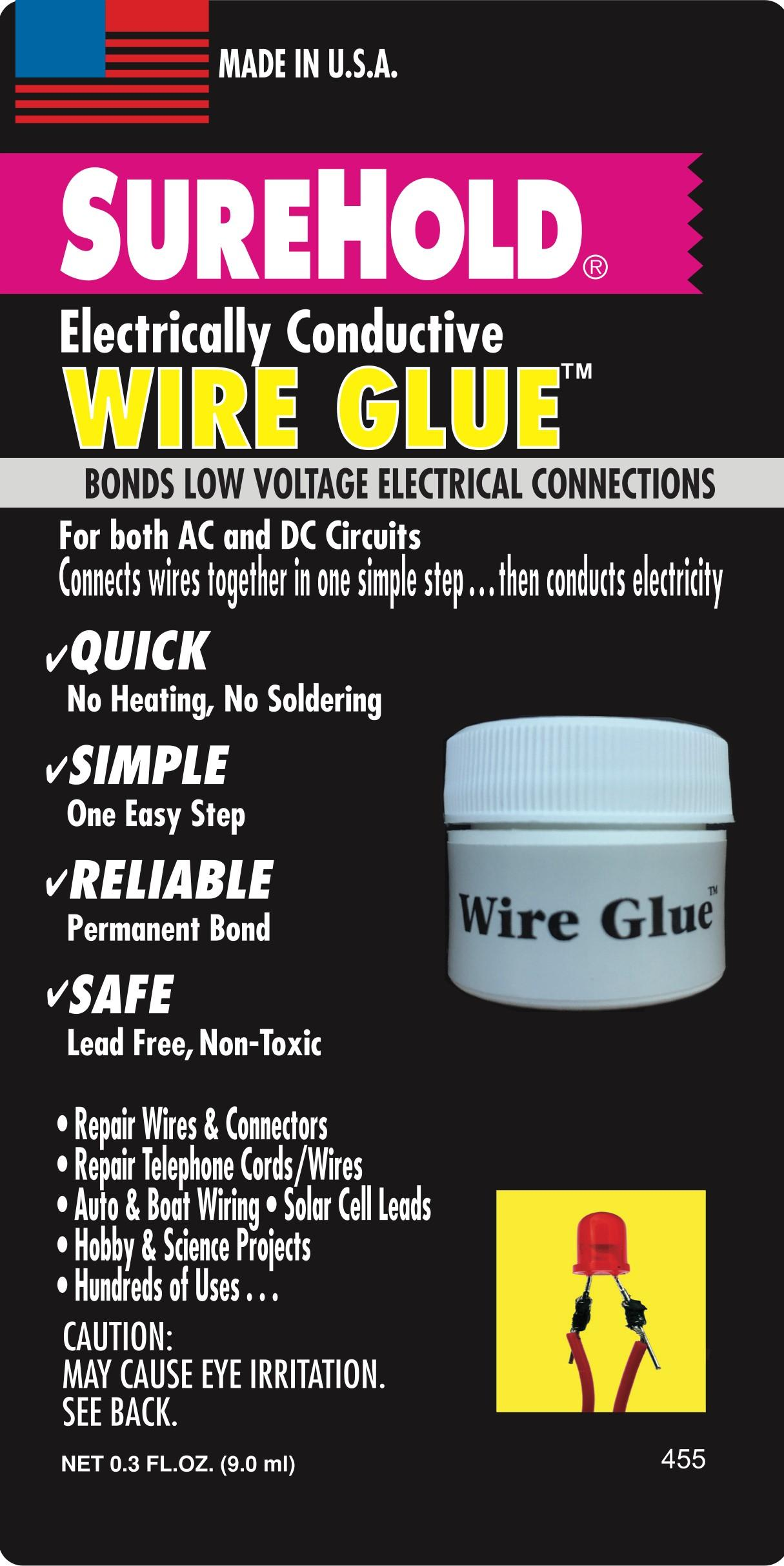 Surehold Adhesives For Every Application Electrical Circuit Science Project Wire Glue Is An Electrically Conductive Water Based Adhesive Use As A Replacement Soldering In All Types Of Low Voltage Current